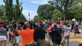 Historic Virginia congregation marches to Lafayette Park after Rayshard Brooks' death