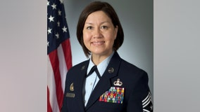 Air Force names first woman as top noncommissioned officer of any US military branch