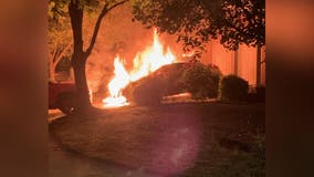 Arson to blame for multi-vehicle fire in Laurel that left 6 homeless