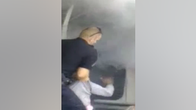 Prince George's cop pulls man from burning car in shocking cellphone video