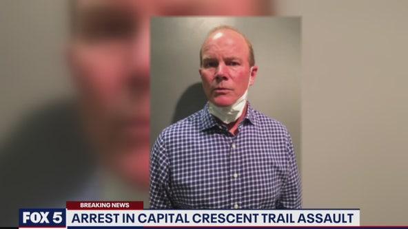 Arrest in Capital Crescent Trail assault