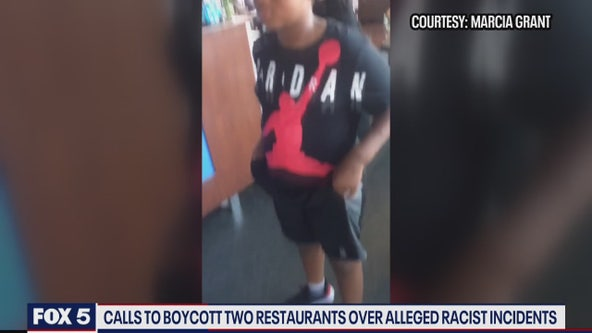 Calls to boycott two Maryland restaurants over alleged racist incidents