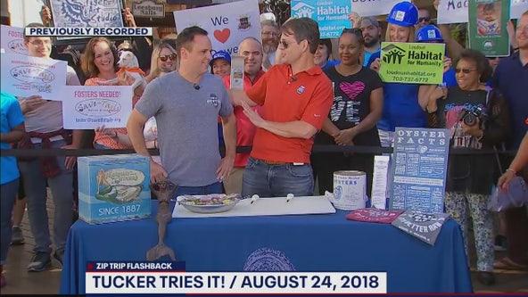 FOX 5 Zip Trip Flashback Leesburg: Tucker Tries It