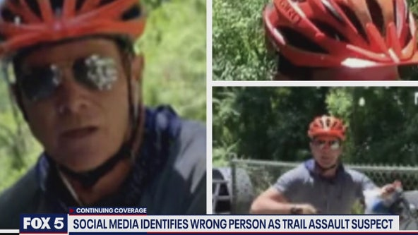 Social media identifies wrong person as trail assault suspect