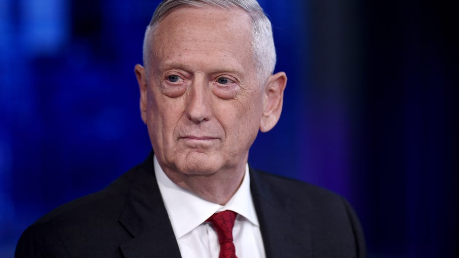Former U.S. Secretary Of Defense James Mattis Visits