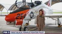 First Black female fighter pilot
