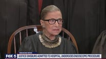 Justice Ginsburg admitted to hospital