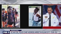 DC mayor, police chief address arrest in killing of 11-year-old