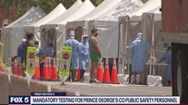 Mandatory testing for Prince George's County safety personnel