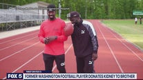 Former Washington football player donates kidney to brother
