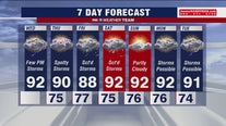Heat wave continues Wednesday with possible afternoon thunderstorms