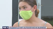 Bethesda middle schoolers start outdoor movie business