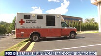 Disaster relief efforts amid COVID-19 pandemic