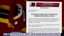 Washington football team retires name