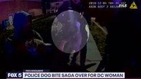 Police dog bite saga over for DC woman