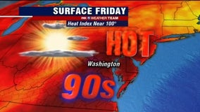 Hot, hazy and humid heading into Fourth of July weekend