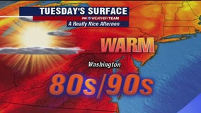 Hot streak continues with dry, sunny Tuesday