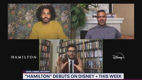 Daveed Diggs, Christopher Jackson talk Hamilton on Disney Plus