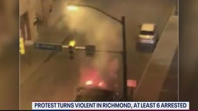 Protests turn violent in Richmond