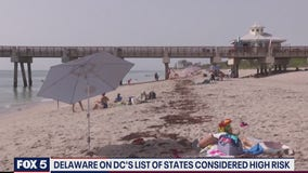 Dewey Beach mayor says DC mayor 'made a mistake' by putting Delaware on its 'high-risk' list