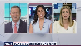 FOX 5 at 4 celebrates its one year anniversary