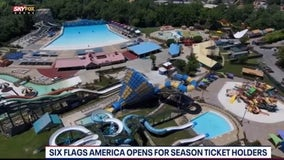Six Flags America opens for members, season ticket holders Wednesday