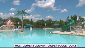 Montgomery County pools open today
