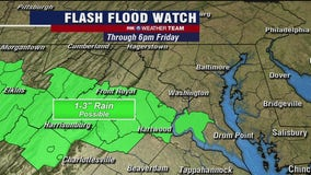 Waves of rain, thunderstorms Friday; weekend showers likely