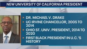 University of California system names first Black president