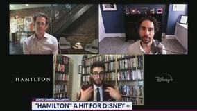 Alex Lacamoire, Andy Blankenbuehler talk Hamilton on Disney Plus