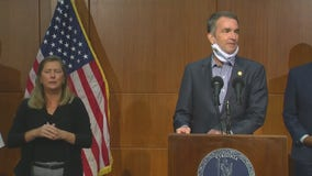 Virginia Ralph Northam addresses concerning coronavirus statistics