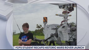 Meet the Fairfax County student who named the Mars Rover