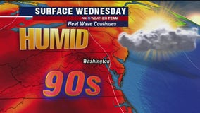 Heat wave continues Wednesday; dry skies with highs in the low-90s