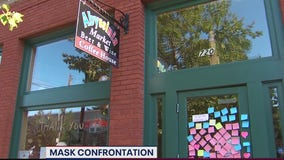 Neighbors rally after face covering confrontation at Old Town Alexandria coffee shop
