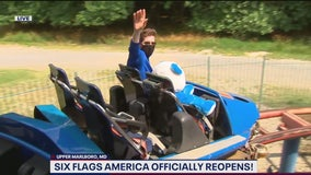New safety measures in place at Six Flags America