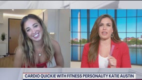 Cardio quickie with fitness instructor Katie Austin