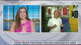 Food truck for dogs travels around DC region