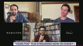 Lin-Manuel Miranda, Thomas Kail talk Hamilton on Disney Plus