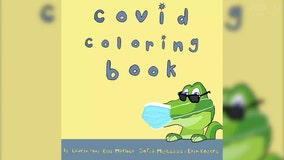 'Be the change': 4 high school students create a coloring book to teach kids about COVID-19