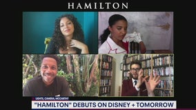 Leslie Odom Jr., Renee Elise Goldsberry and Jasmine Cephas Jones talk Hamilton on Disney Plus
