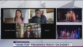 Phillipa Soo, Okieriete Onaodowan talk Hamilton on Disney Plus