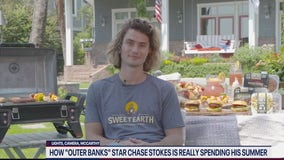 How 'Outer Banks' star Chase Stokes is really spending his summer