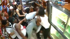 Mob attacks man, daughter in Manhattan deli