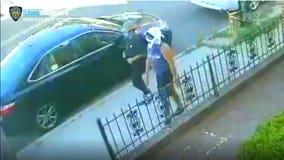 2 men try to burn an elderly woman alive in Brooklyn