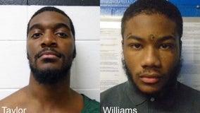 Fugitives arrested in Michigan after Virginia jailbreak, choking out officer