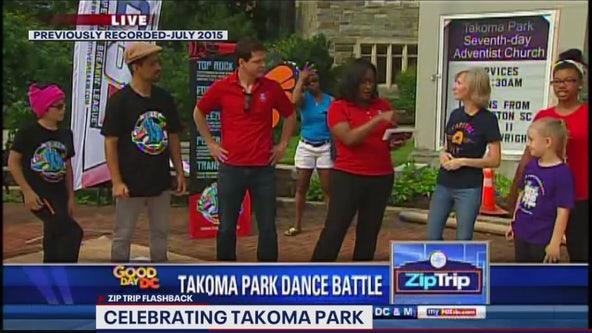FOX 5 Zip Trip Flashback: A Takoma Park Fourth!