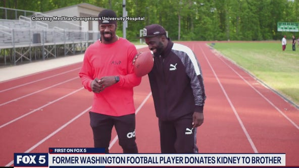 Former Washington football player donates kidney to brother during pandemic