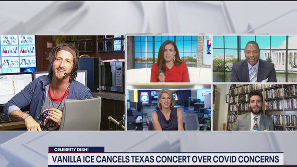 Vanilla Ice cancels Texas concert over COVID-19 concerns