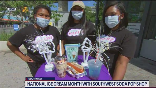 Southwest Soda Pop Shop celebrating National Ice Cream Month