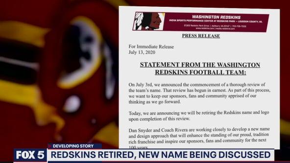 Washington football team retires name